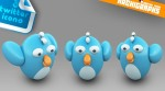 Twitter Dock Icon Set