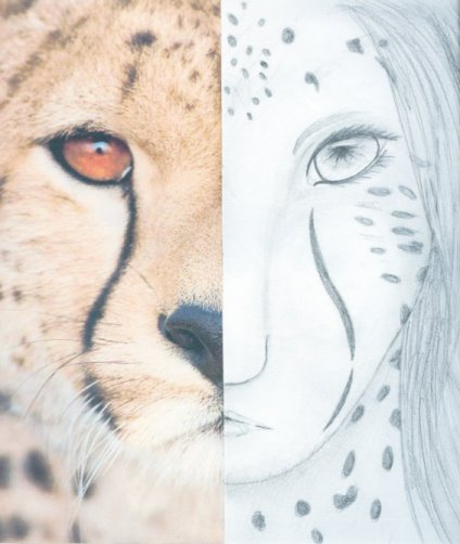 Half Human Half Animal Drawing Half_animal_half_human_by_ ...