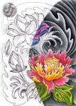 Lotus_Peony_Rose_half_half_by_JeroenICA